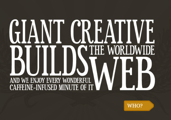 Graphic Design Junction: 50+ Creative Websites with Beautiful Typography