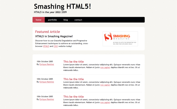 CodingAnHTML5LayoutFromScratch